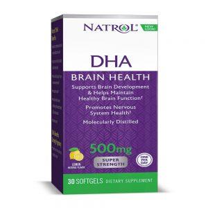 Natrol DHA 500 mg