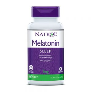 Natrol Melatonin 1mg Time Release