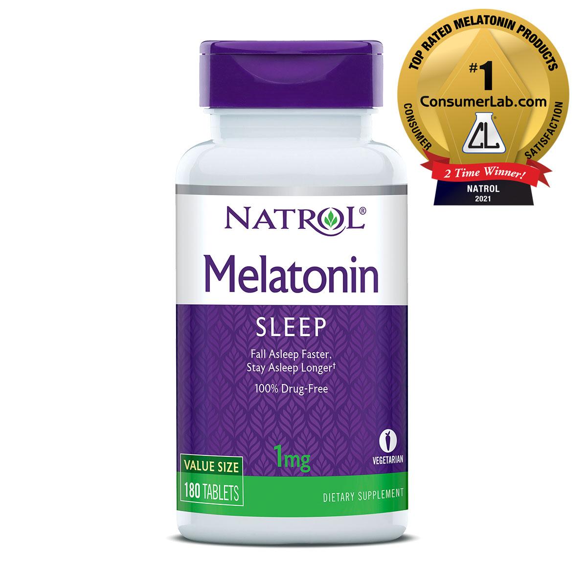 Melatonin 180 Tablets