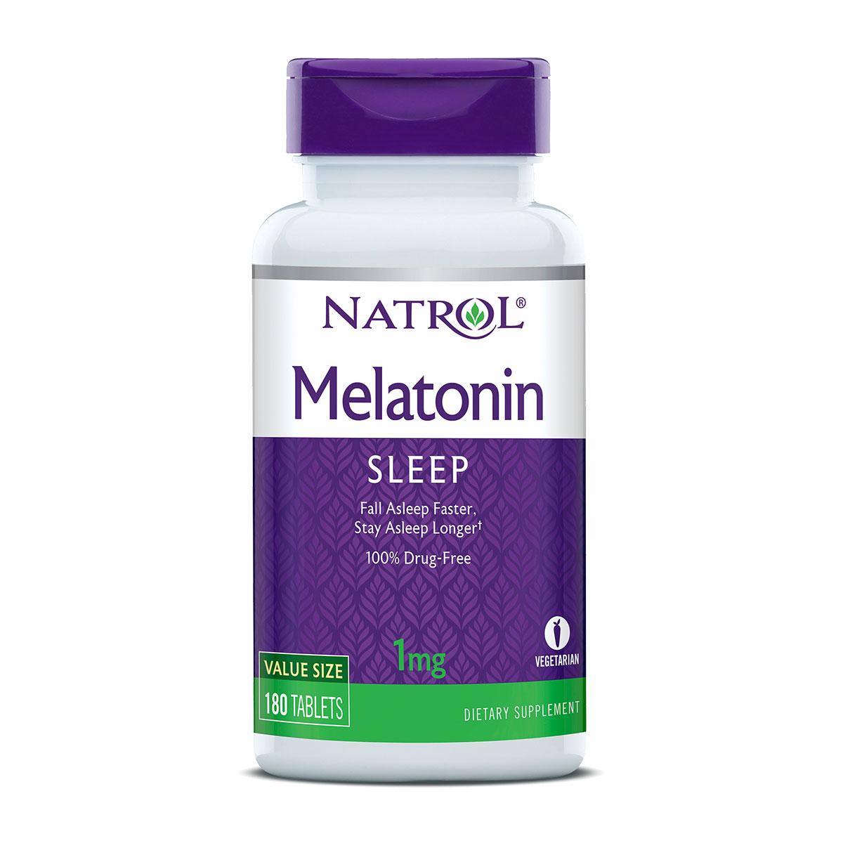 Natrol Melatonin 180 tablets