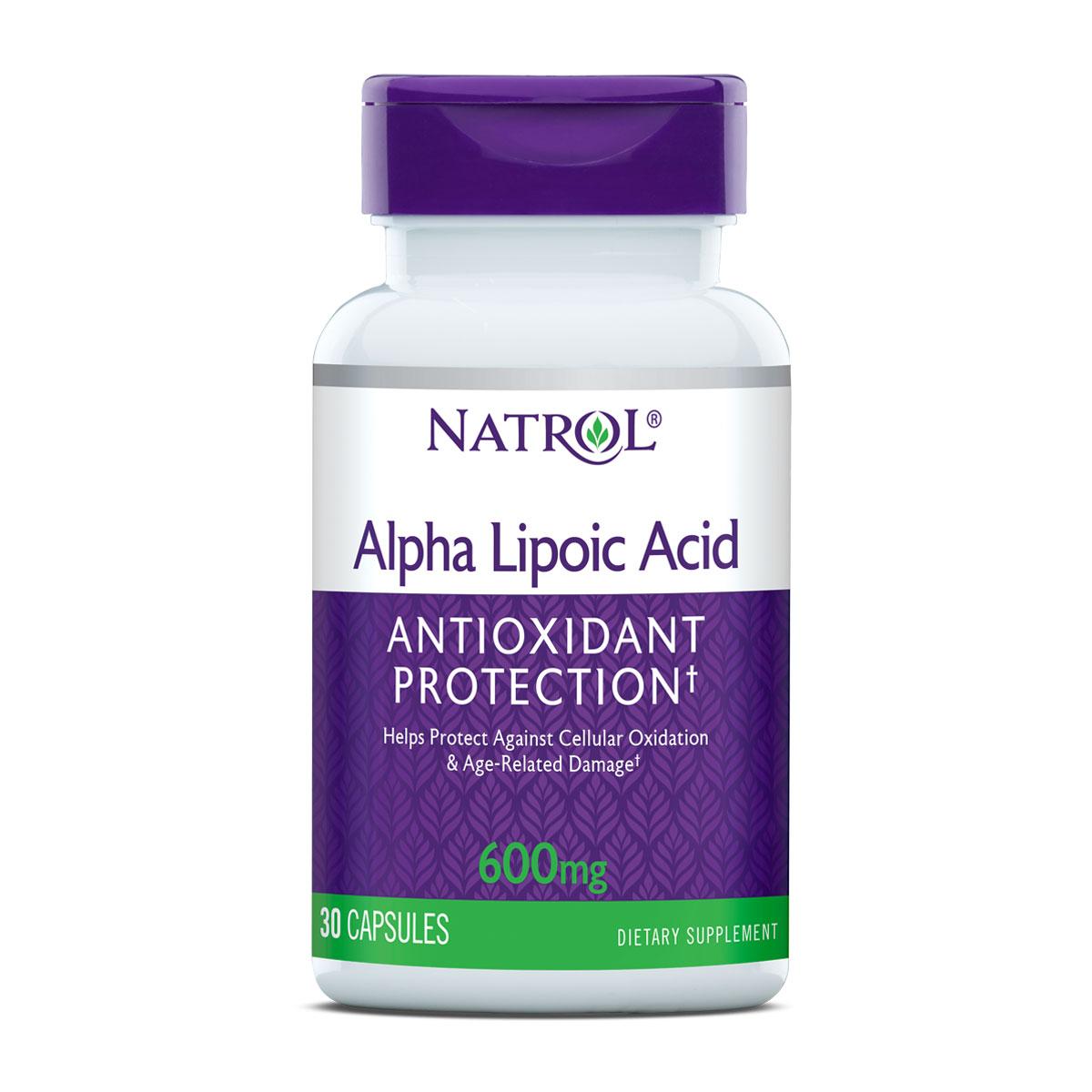Alpha Lipoic Acid 600 mg capsules