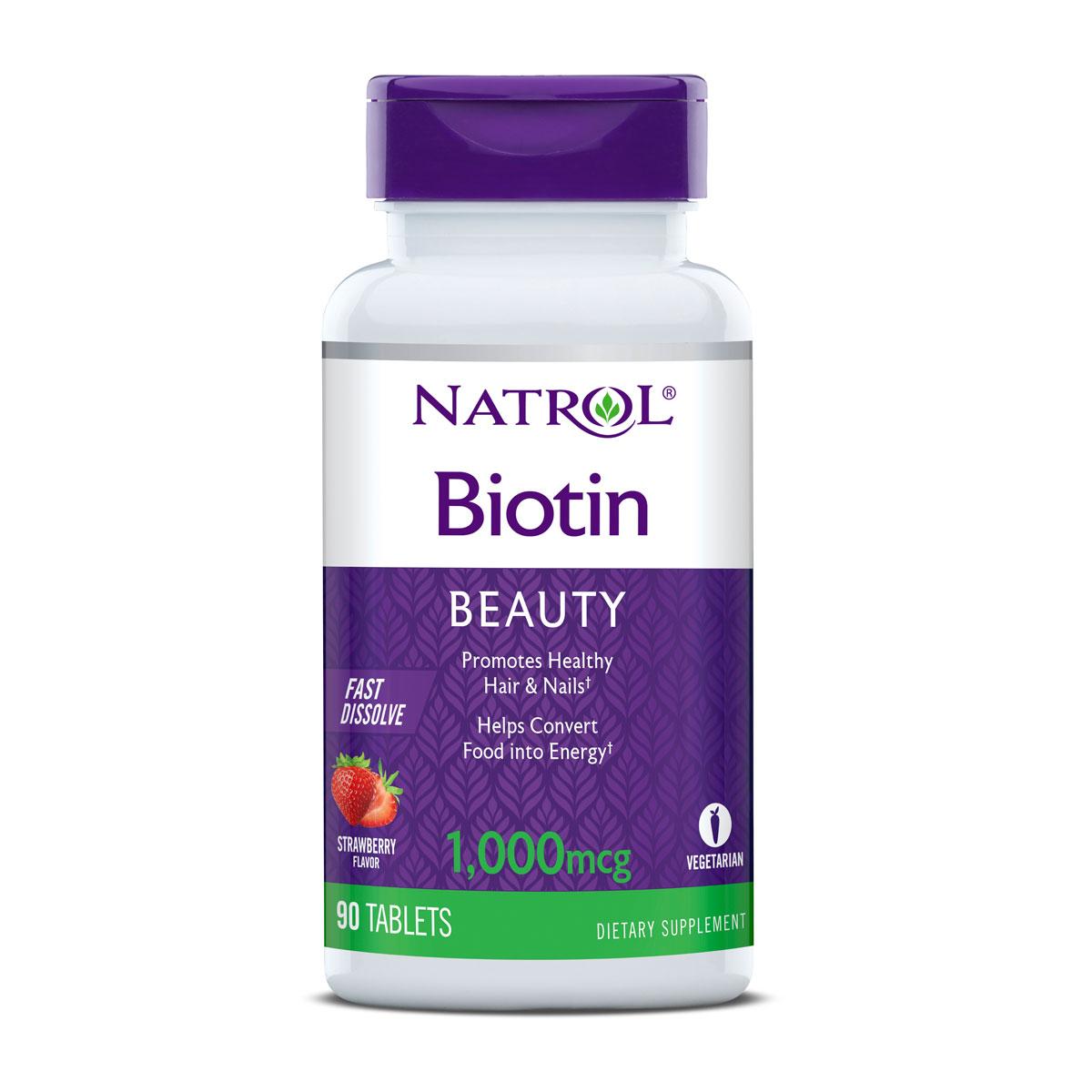 Biotin 1000 mcg Fast Dissolve 90 tablets