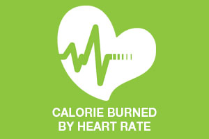 Calories burned by heart rate