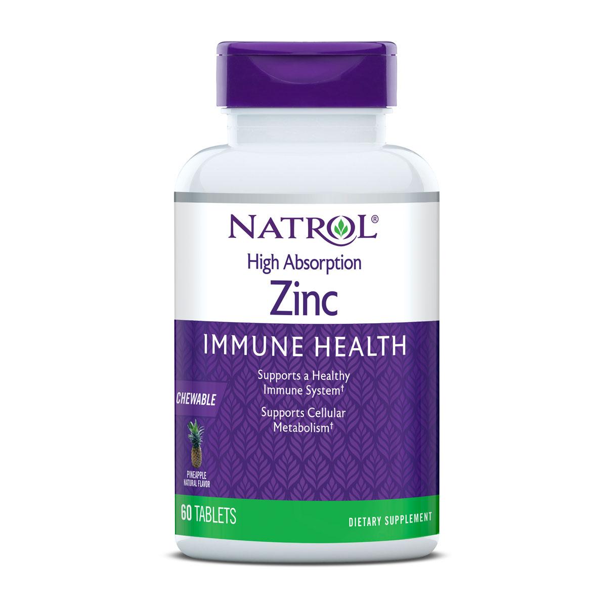 Natrol Zinc High Absorption